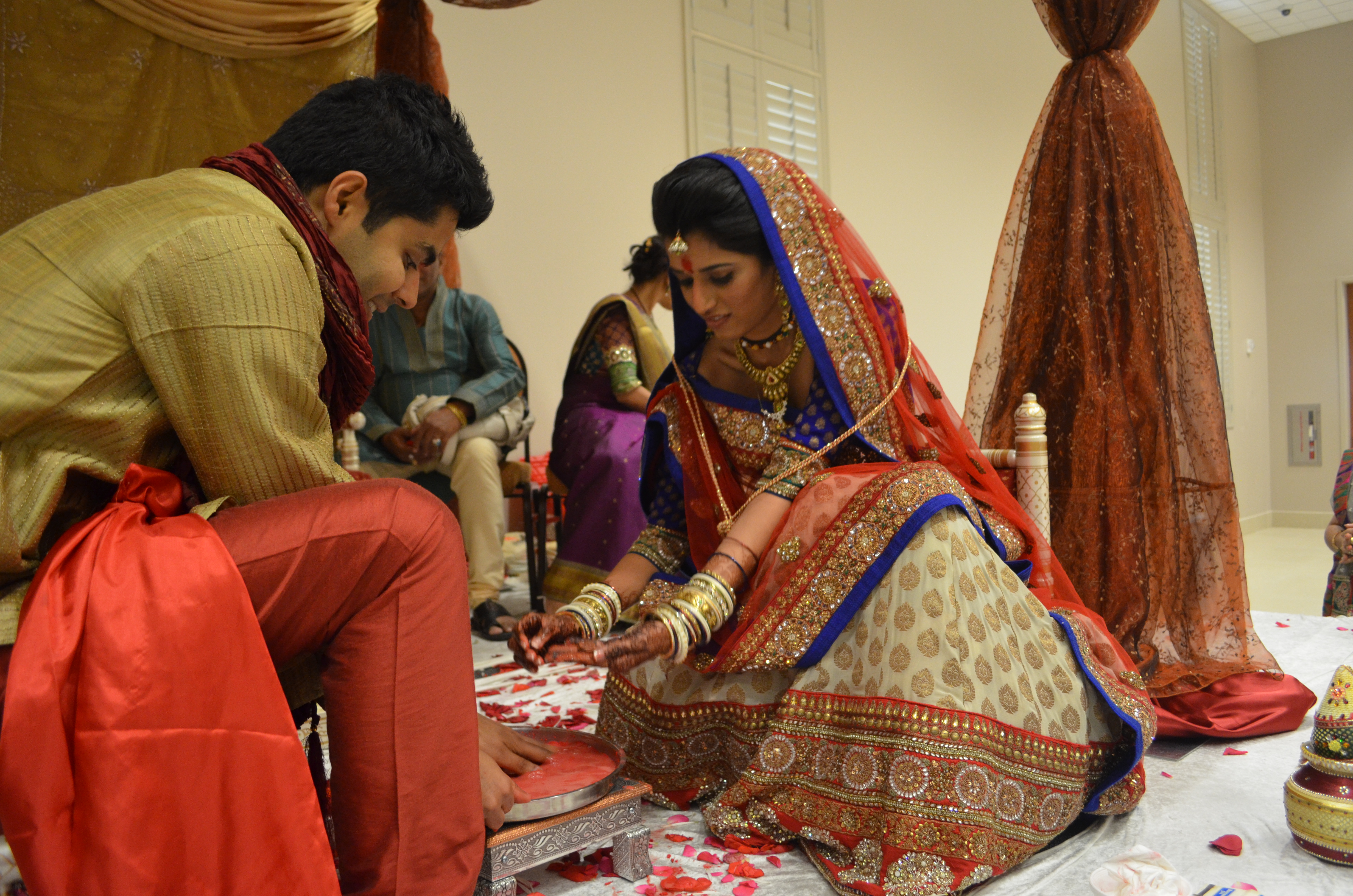In The Hindu Tradition There Are Some Fun Games That Played After Wedding Whoever Wins Dominates Marriage