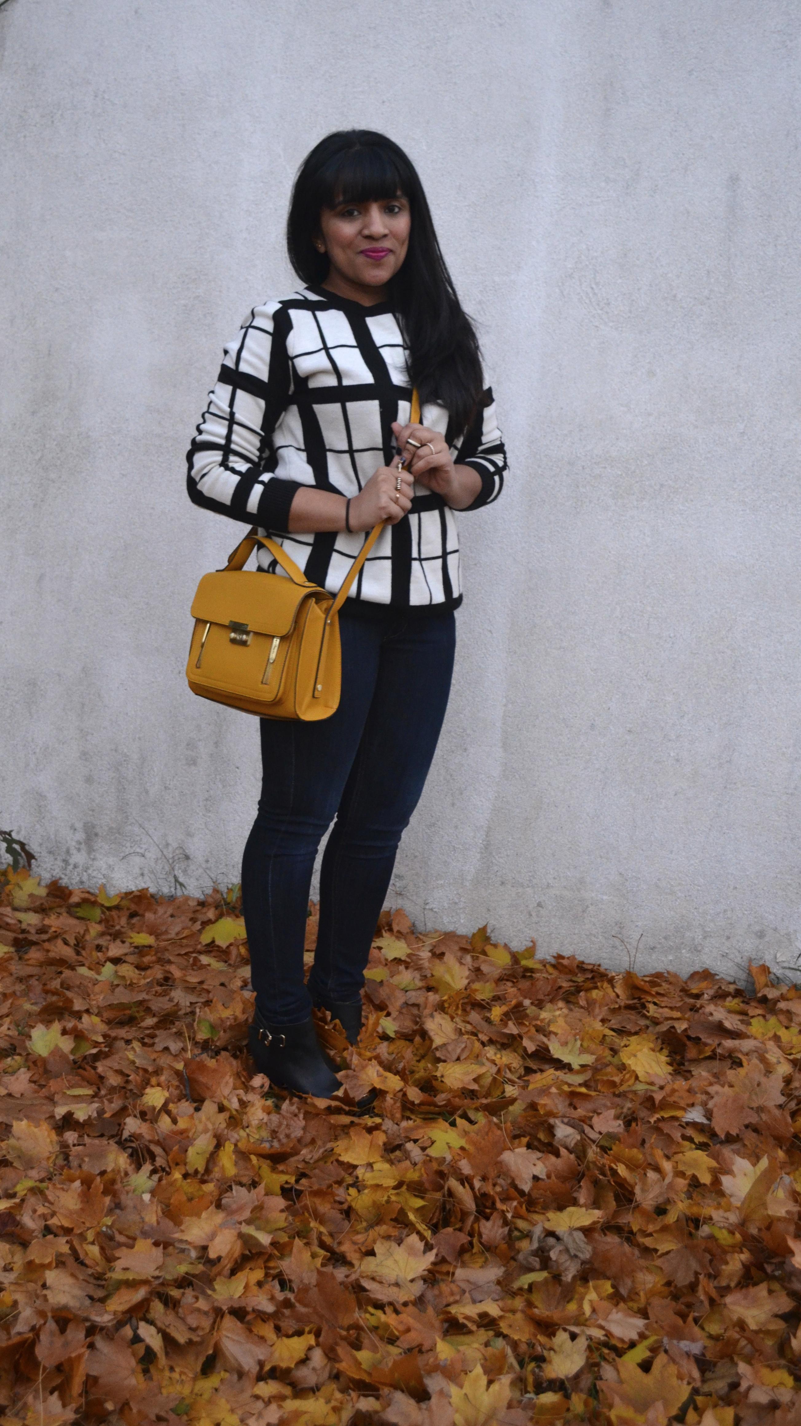 Windowpane Sweater