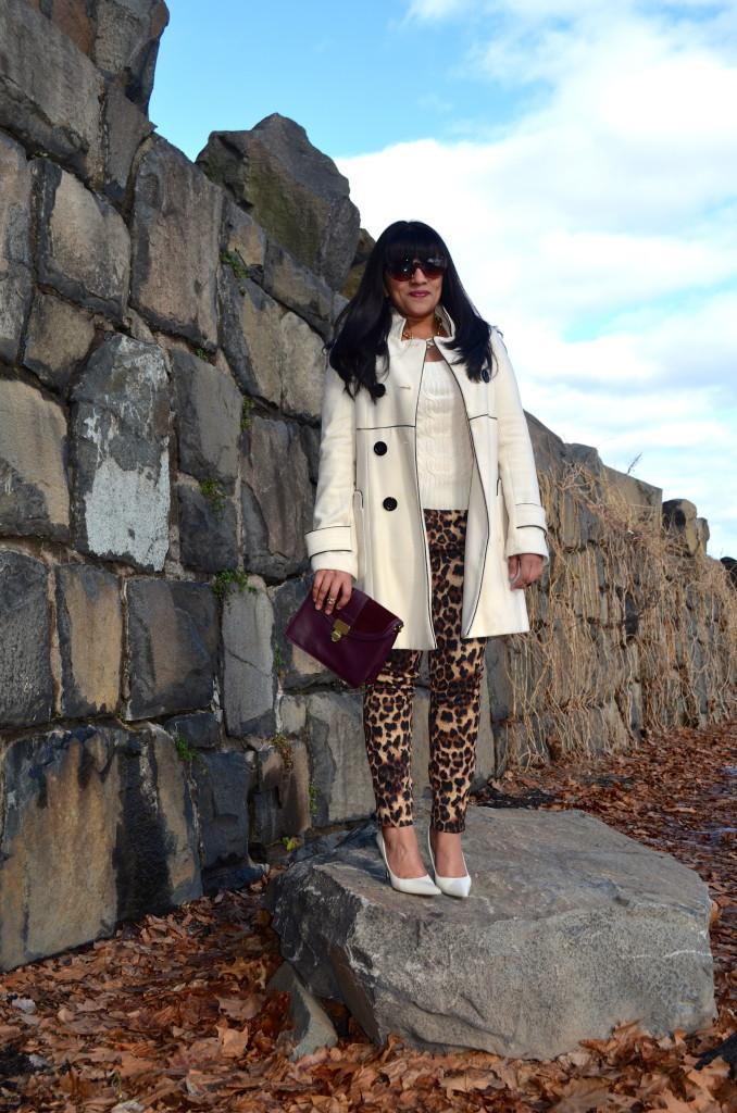 Outfit: Leopard Print Pants