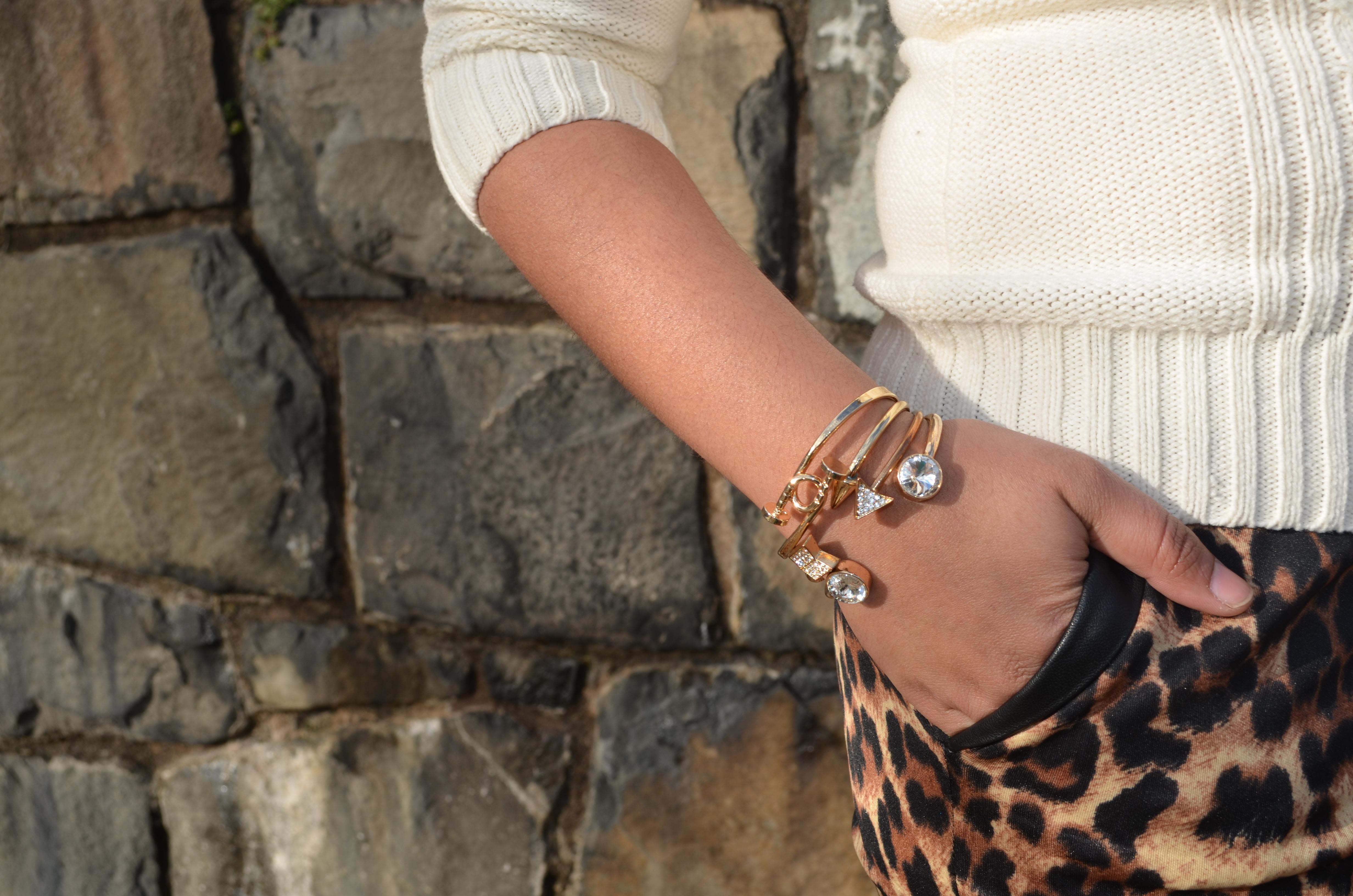 Gold Bracelet Stack