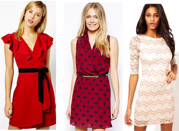 Valinetines Day Dresses Pics