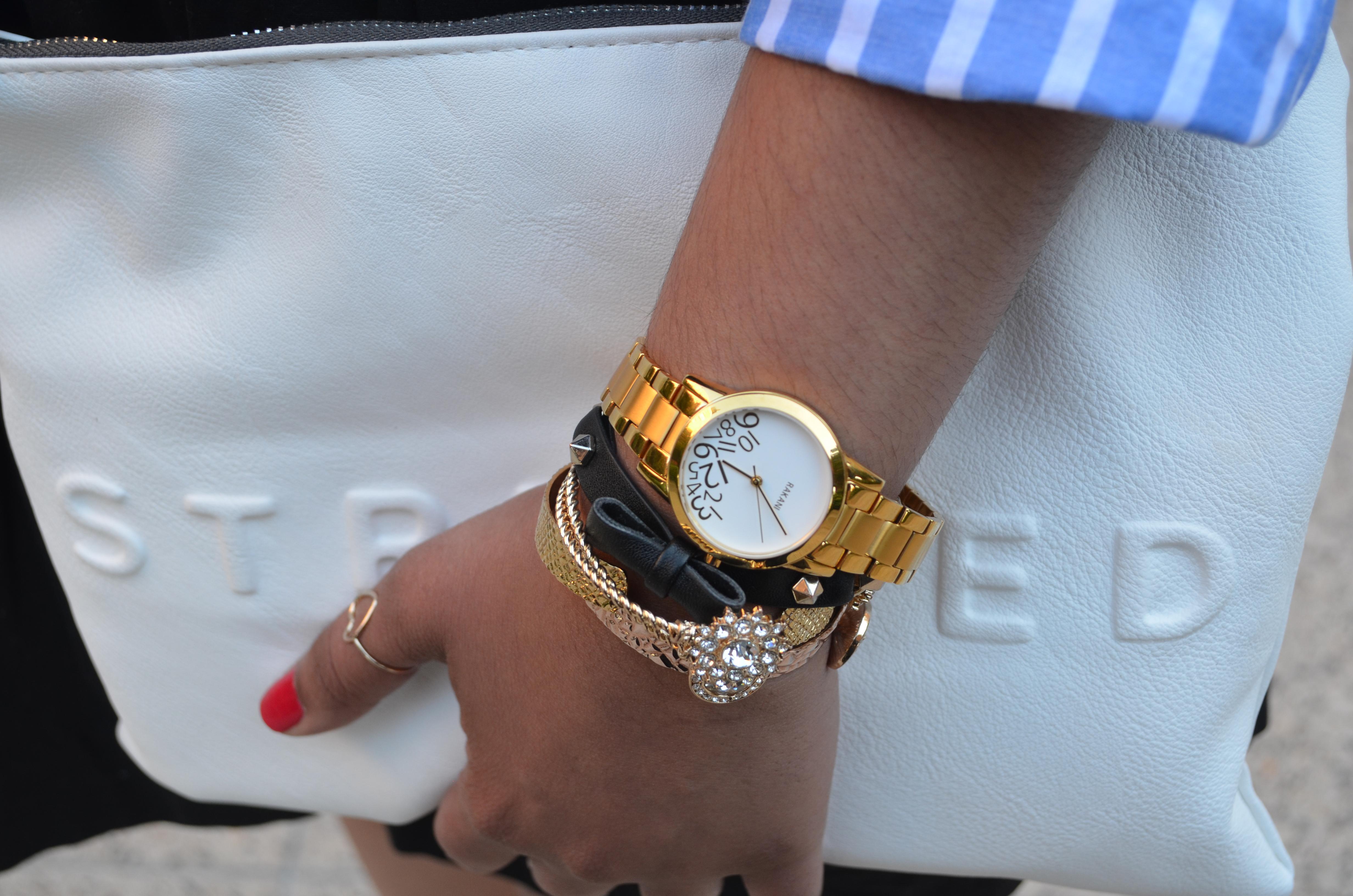 Gold Boyfriend Watch