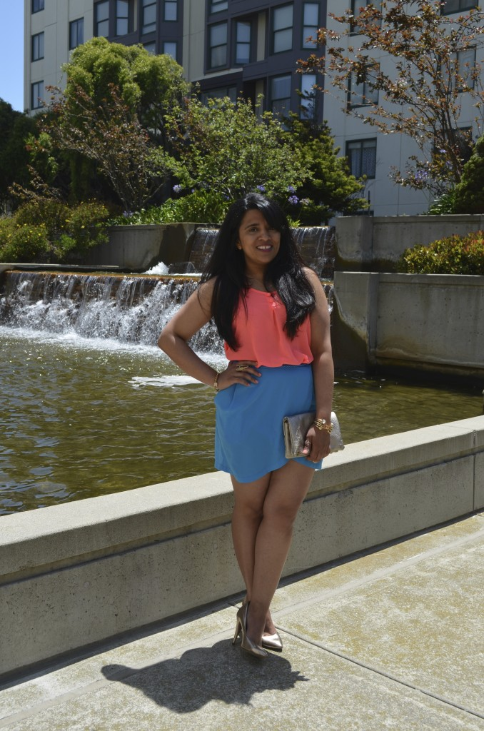 Outfit: Pink & Blue