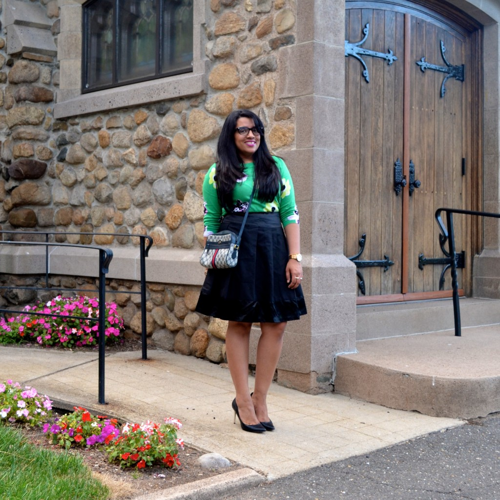 How to style a full skirt