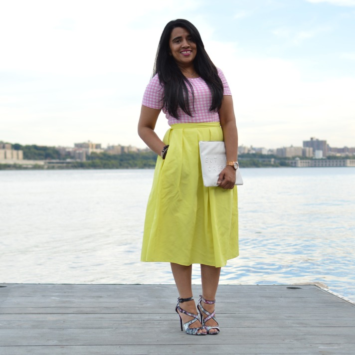 NY Fashion Week Midi Skirt