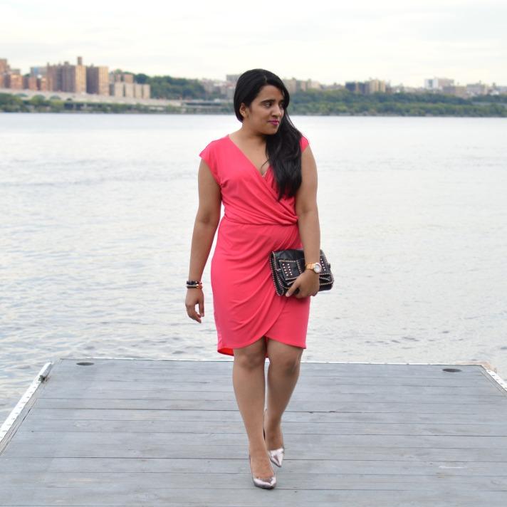 BCBGeneration Pink Dress