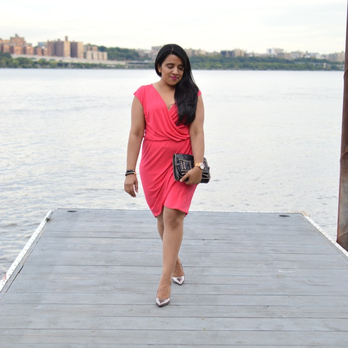 Outfit: Tulip Wrap Dress