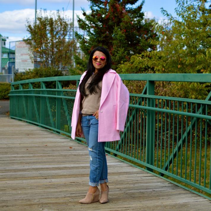JOA Pink Coat