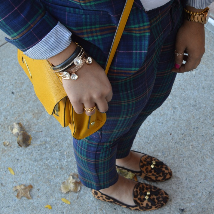 Leopard Loafers Outfit