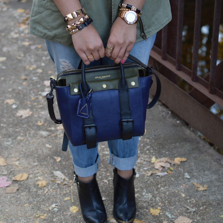 "Kelsi Dagger Heritage ""Bike"" Bag"