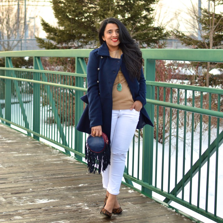 Navy Coat Outfit