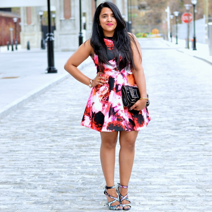 floral-dress-for-wedding-guest