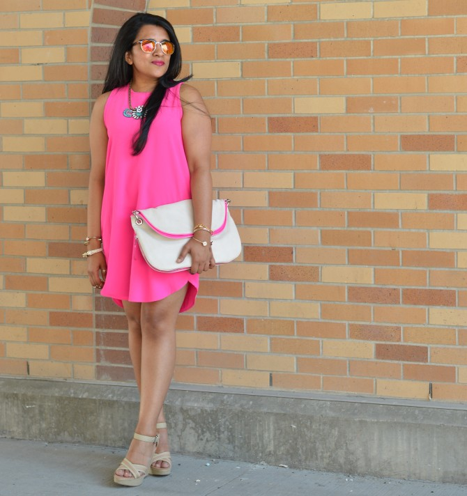 pink-shift-dress