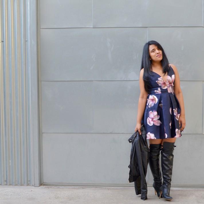 floral-dress-boots