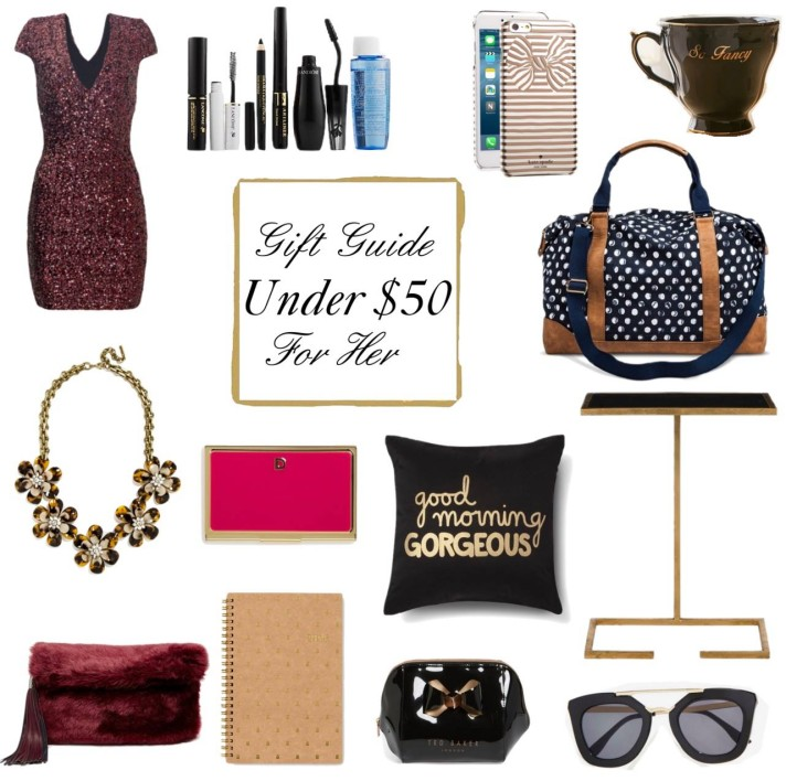 Christmas 2015 Gifts for Her – Under $50!