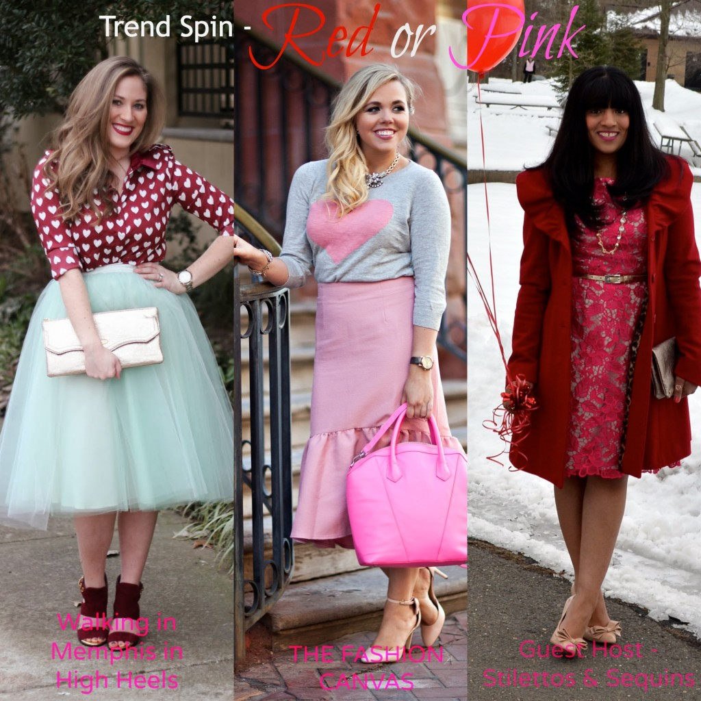 Trend Spin Linkup – Red & Pink