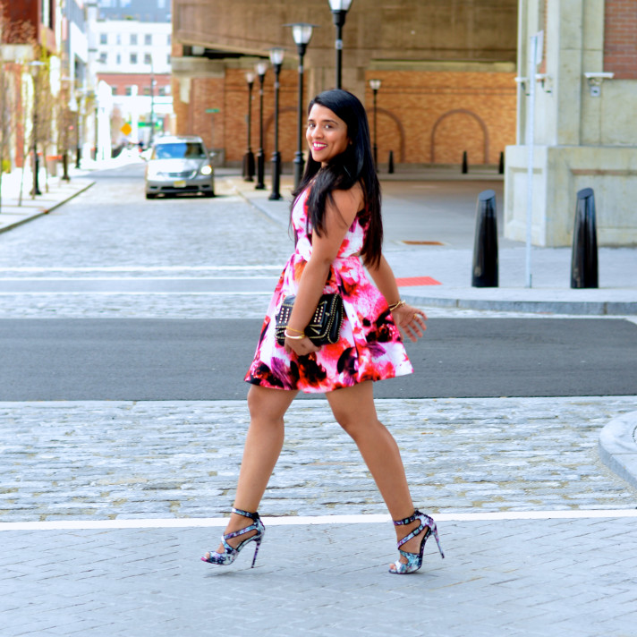 Lulus-floral-dress