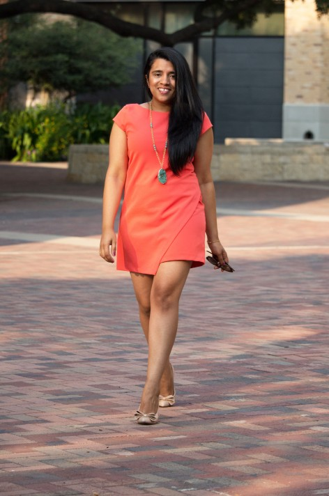 zara-orange-dress